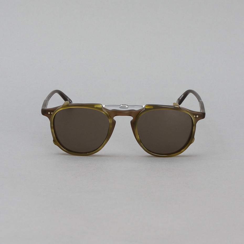 Garrett Leight Hampton & Clip-On