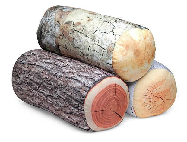 Log Pillows