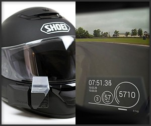 Nuviz Ride:HUD for Helmets