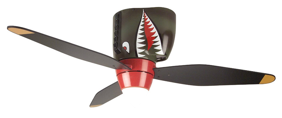 P-40 Flying Tiger Ceiling Fan