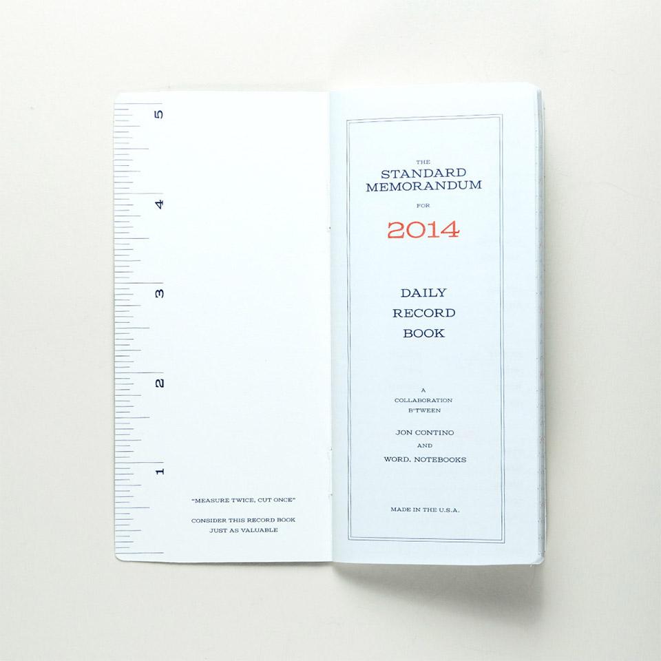Standard Memorandum Notebook