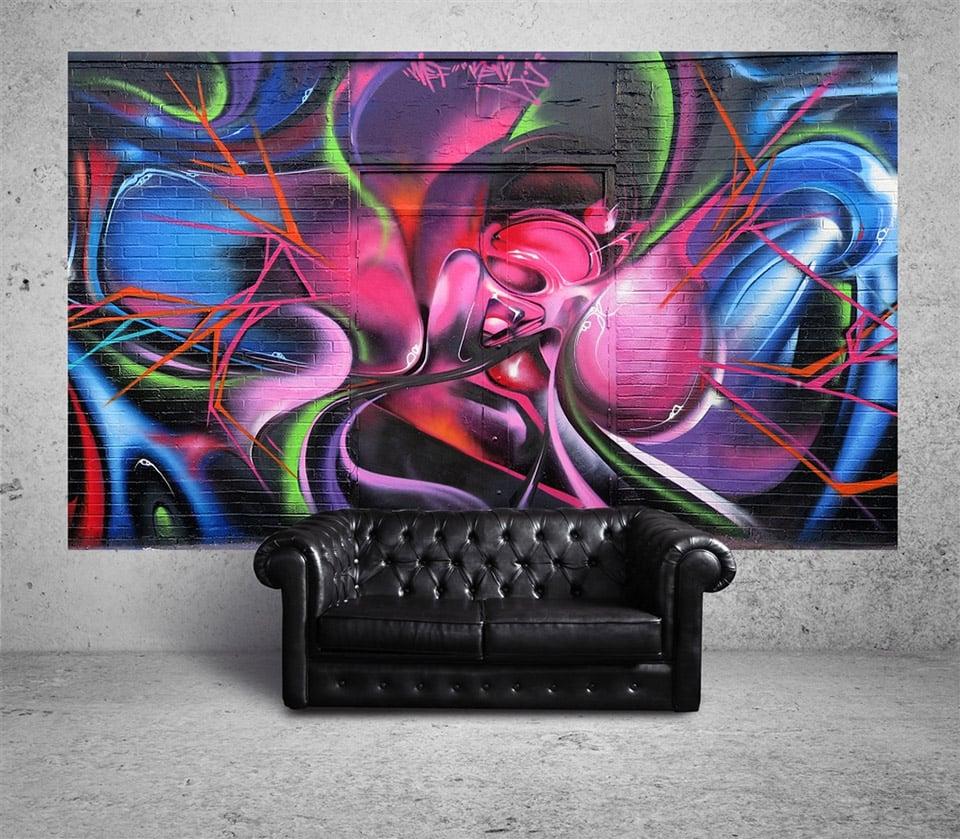 SUUMO Street Art Wall Murals