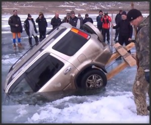 Ice Fishing for SUVs