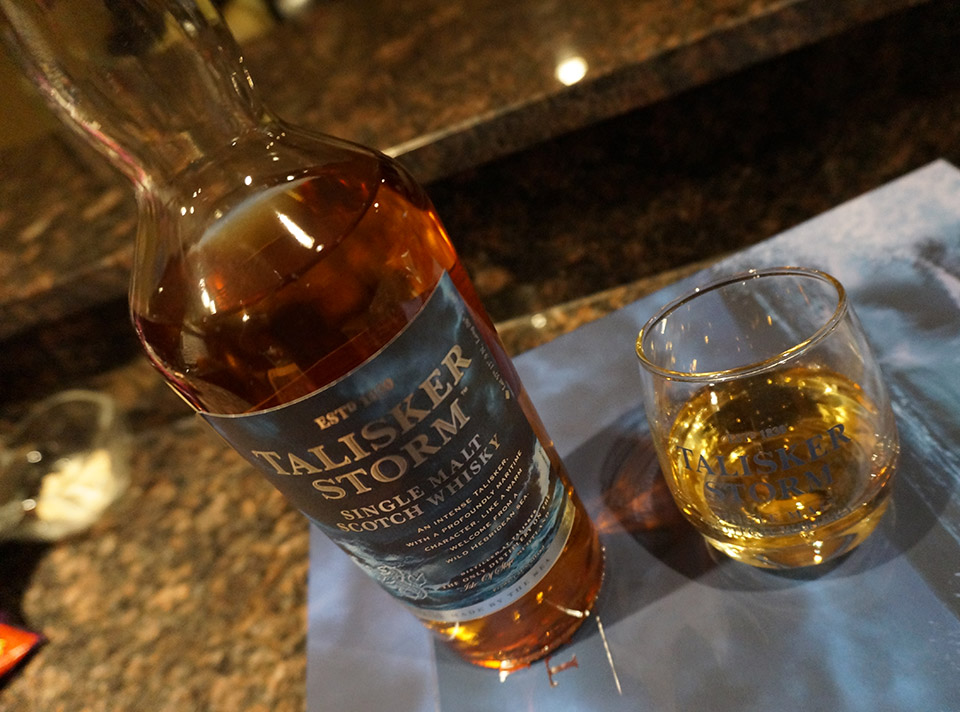 Talisker Storm Scotch Whisky