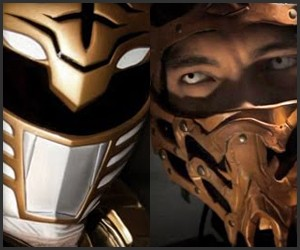 White Ranger vs. Scorpion