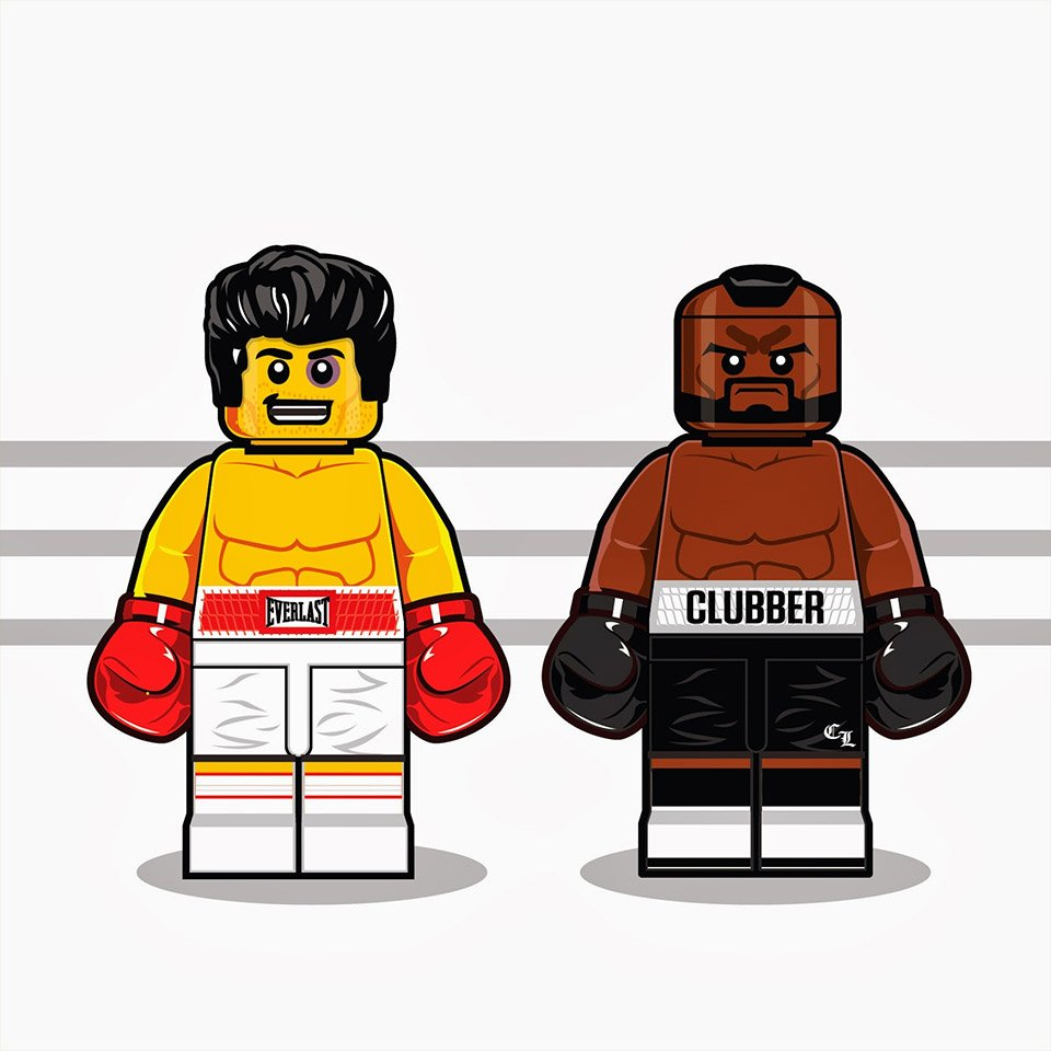 80s LEGO Minifigs