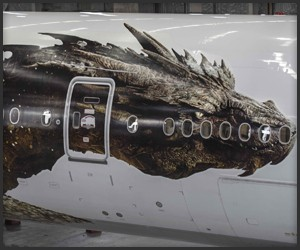 Air New Zealand Smaug Reveal