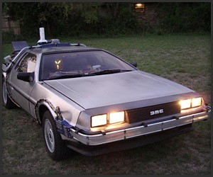 BttF DeLorean Replica 2