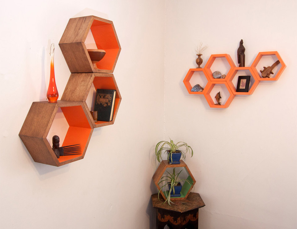 Honeycomb Shelving
