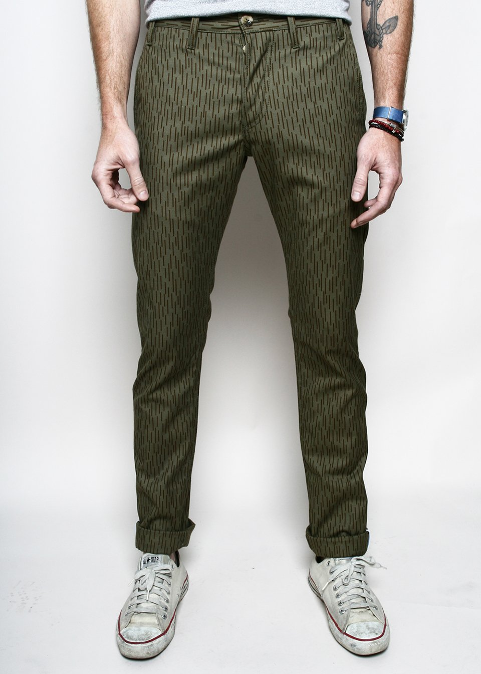Raindrop Camo Officer Trousers