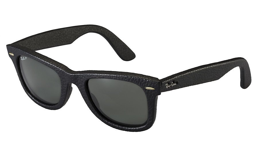 ray ban sunglasses wayfarer leather