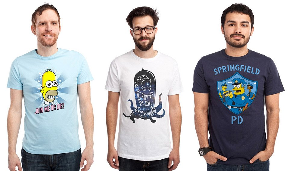 Threadless x The Simpsons