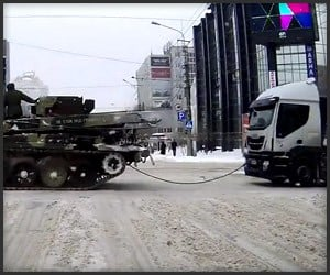 Towing a Truck: Russian Style