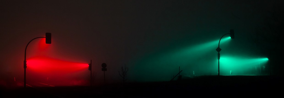 Traffic Lights in the Fog