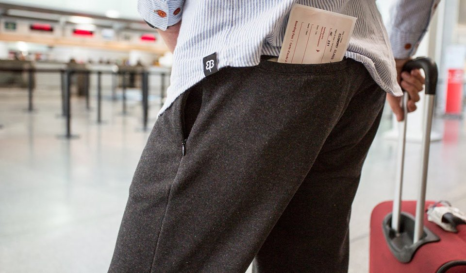 Travel Dress Pant Sweatpants - The Awesomer