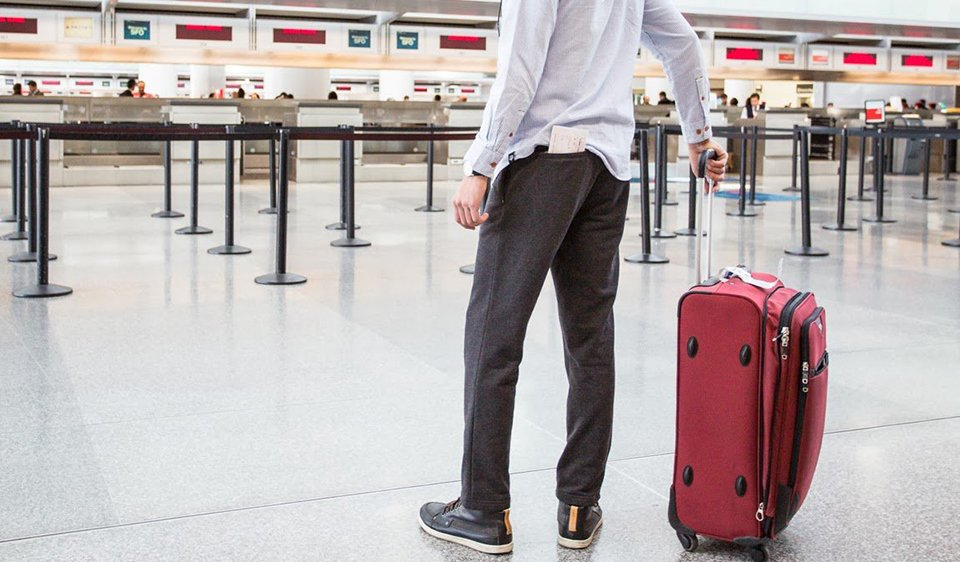 Travel Dress Pant Sweatpants