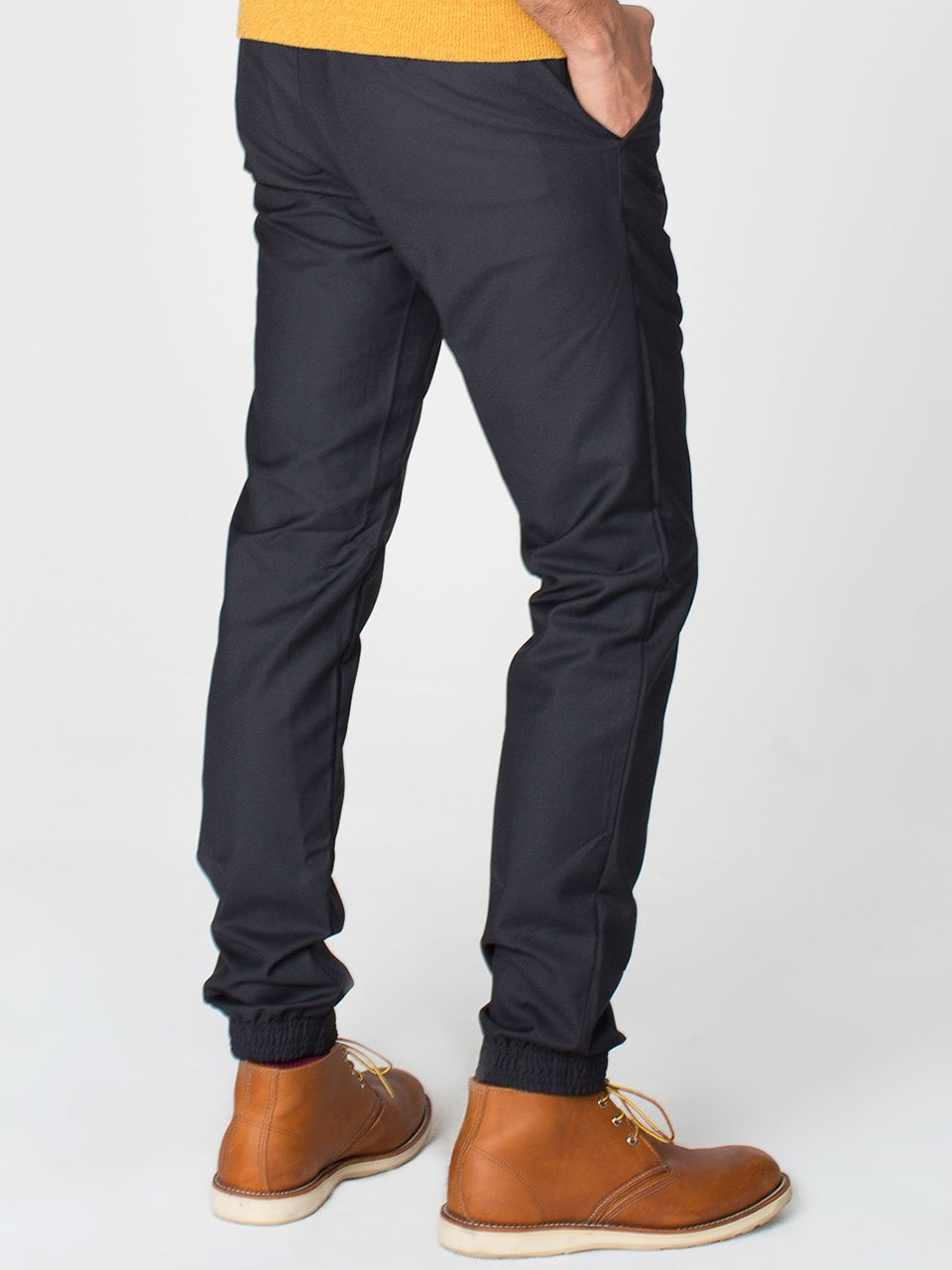 Viscose Twill Welt Pocket Pant
