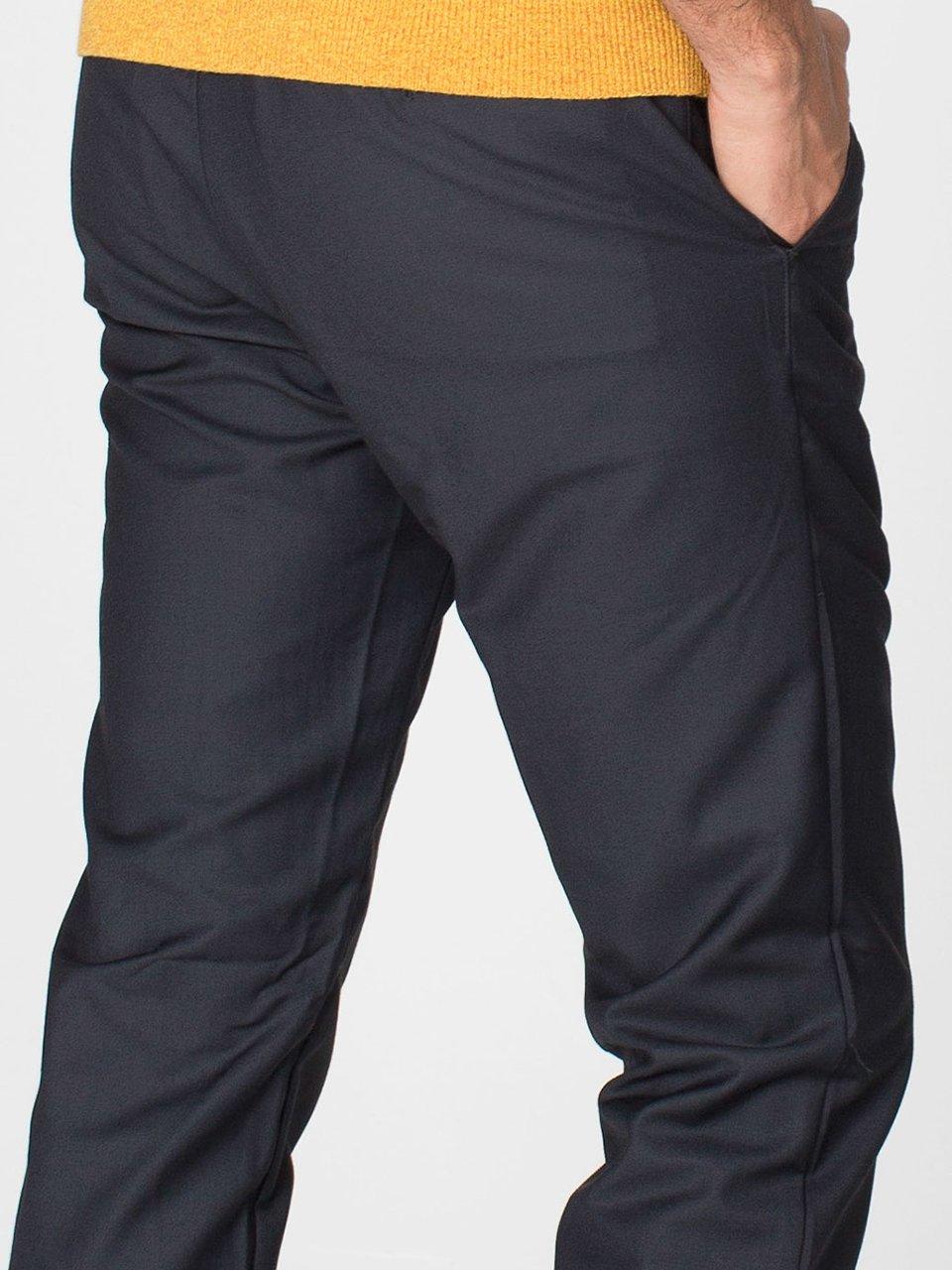 Viscose Twill Welt Pocket Pant