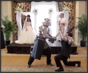 Epic Wedding Ceremony Battle