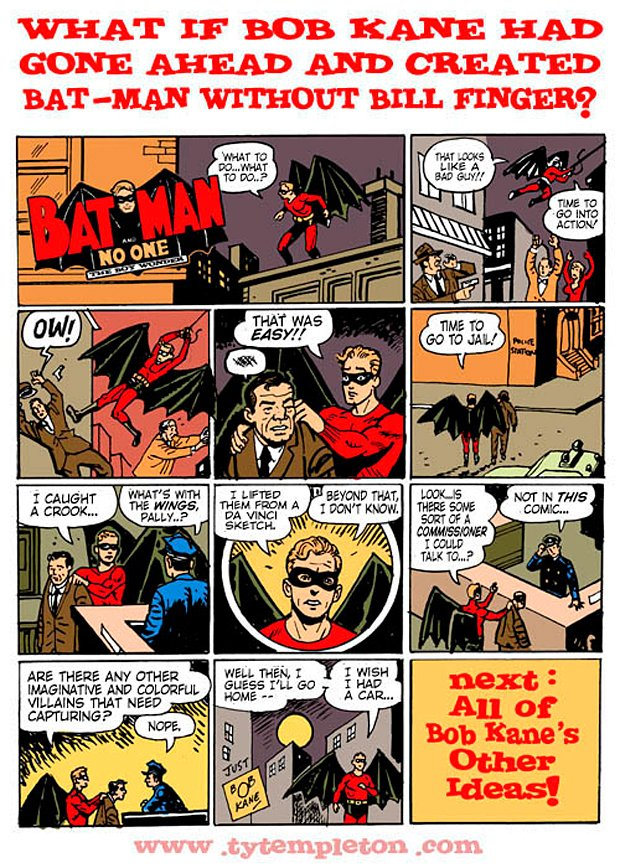 Batman without Bill Finger