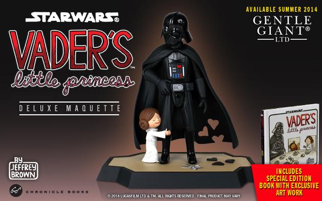 Vader's Son & Princess Figures