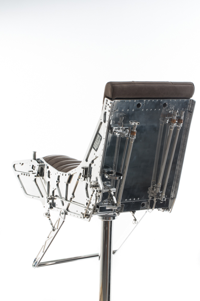 Ejector Seat Bar Stools