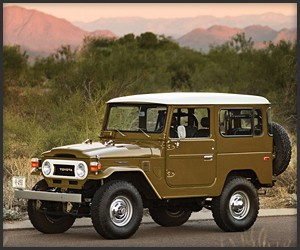 Finishing Touch FJ40 Land Cruiser