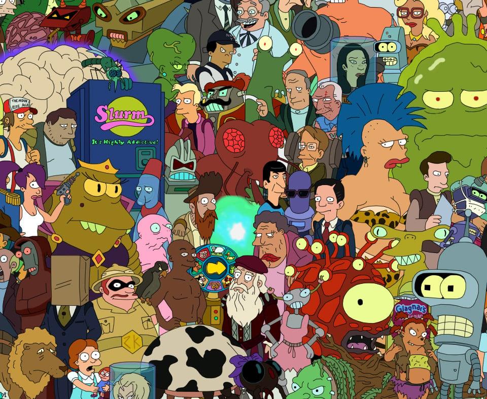 Futurama Cast Poster