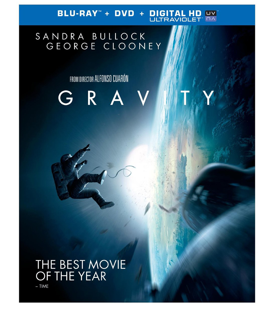Gravity Blu-ray & DVD