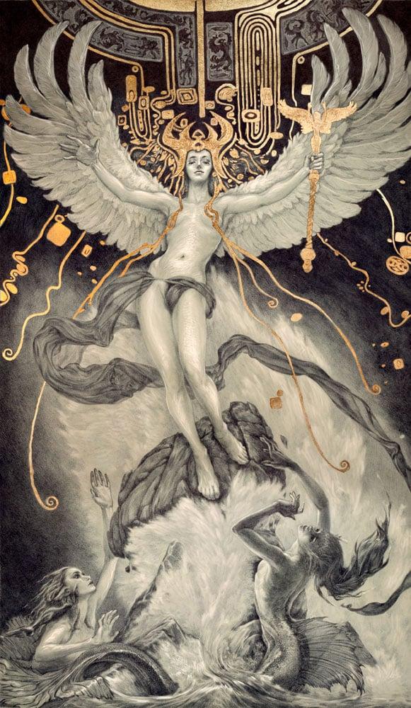 Ink & Gold Illustrations