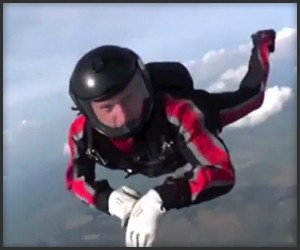 Knocked out While Skydiving