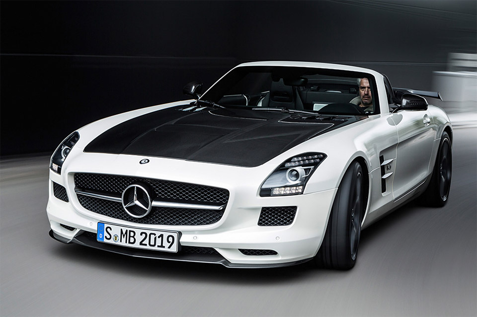 Mb amg gt sls final edition the awesomer for Mercedes benz sls amg gt coupe