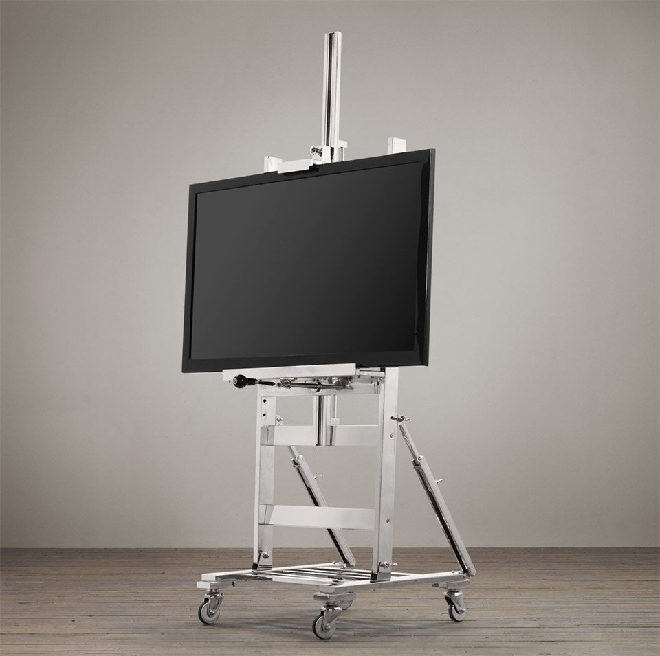 Metal Tv Easel The Awesomer