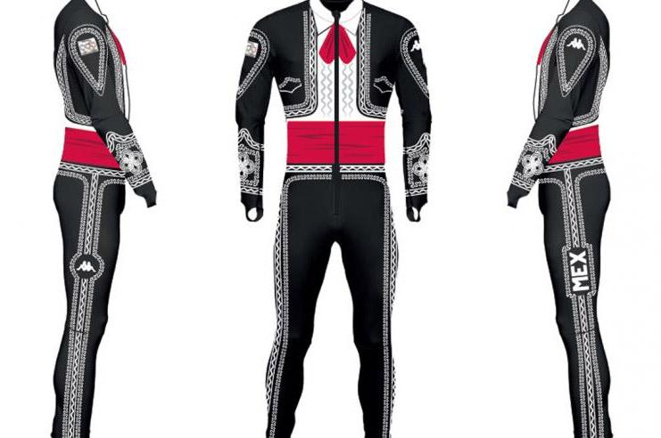 Mariachi Ski Suit