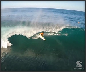 Pipeline Surfing Drone Footage