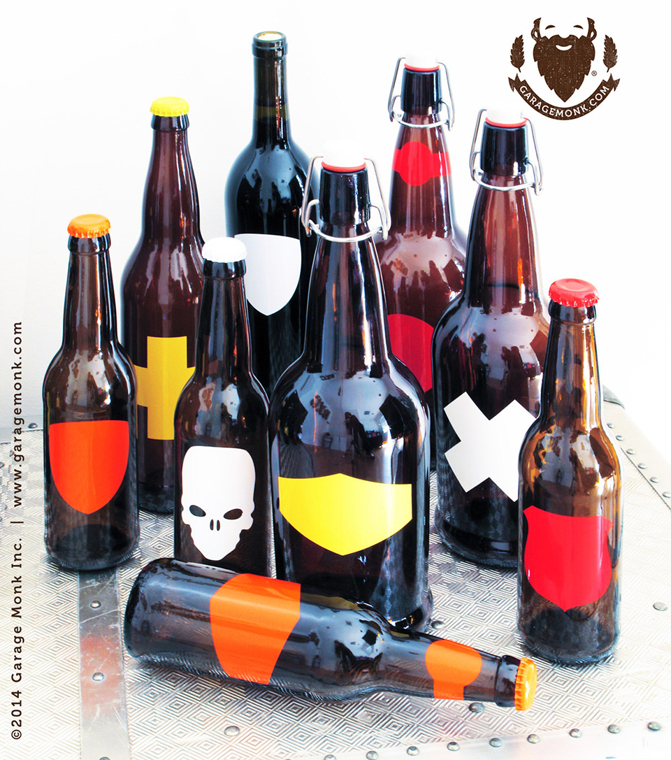 Rewriteable Bottle Labels