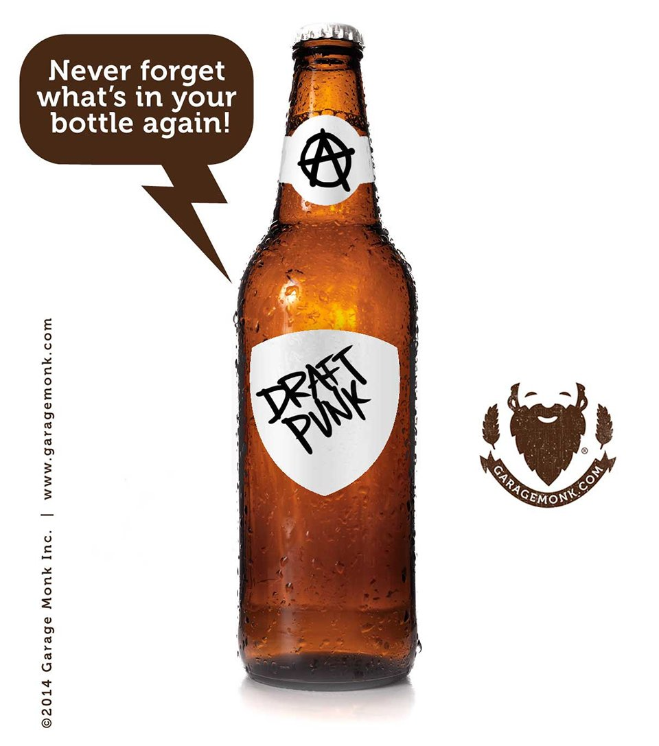 Rewriteable Bottle Labels