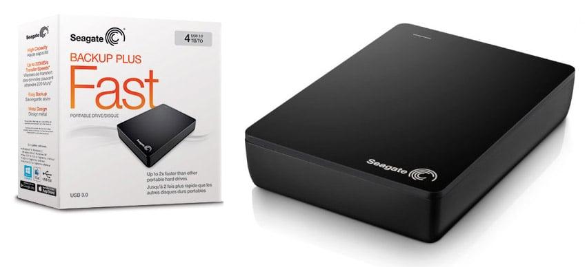 Seagate 4TB Portable Drive