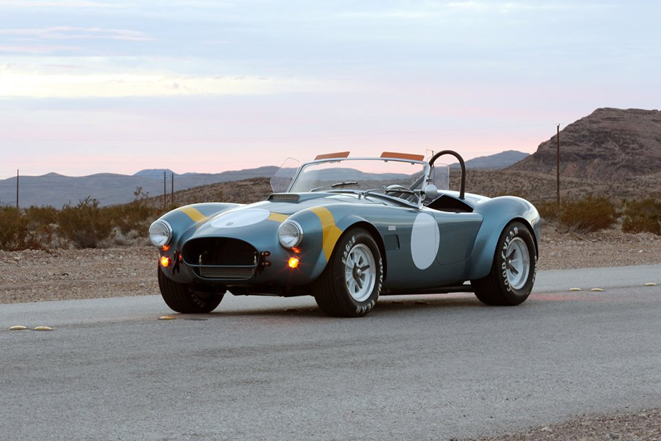 Shelby 50th Anniv. FIA Cobra