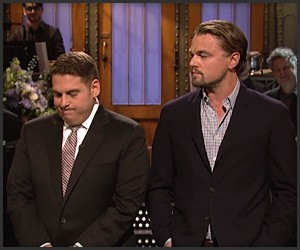 SNL: Jonah Hill on Leo DiCaprio