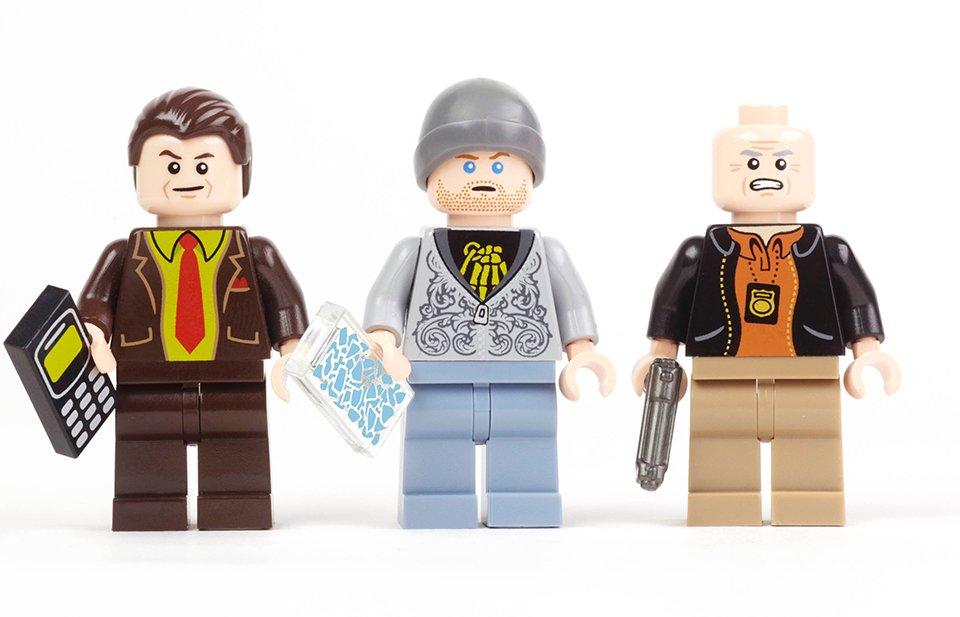 Breaking Bad Minifigs 2 The Awesomer