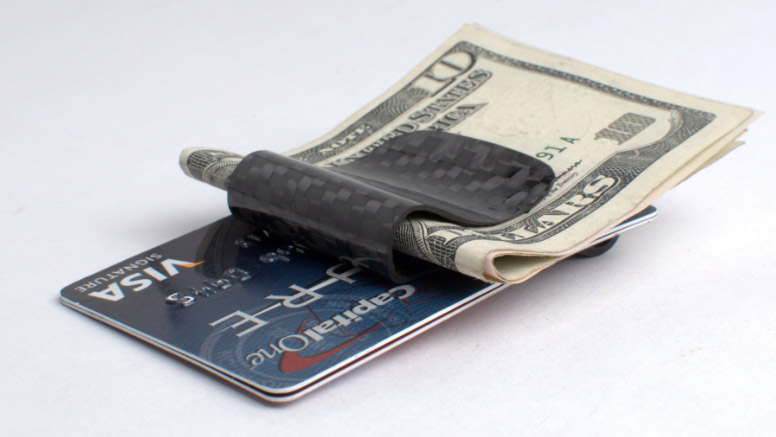 Carbon Fiber Money Clips