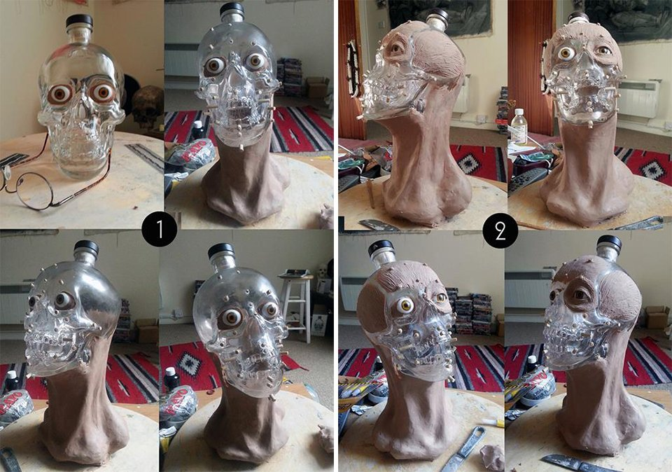 Crystal Head Vodka Face
