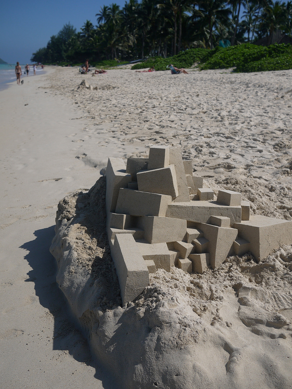 Geometric Sand Sculptures 2