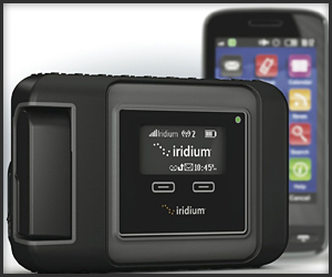 Iridium GO! Global Wi-Fi Hotspot