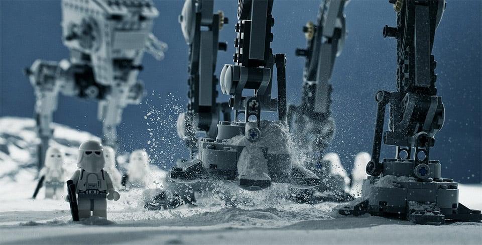 LEGO + Baking Soda Dioramas