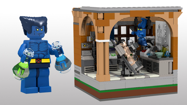 Lego X Men X Mansion Concept