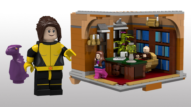 LEGO X-Men X-Mansion Concept