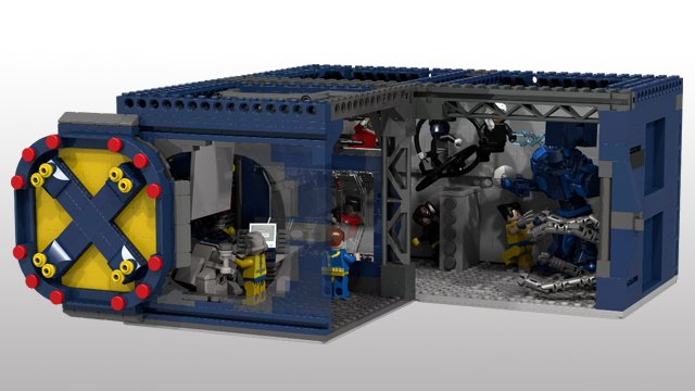 LEGO X-Men X-Mansion Concept