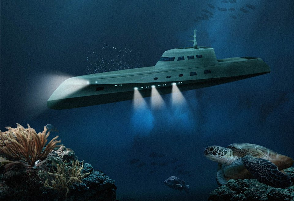 Lovers Deep Couples Submarine